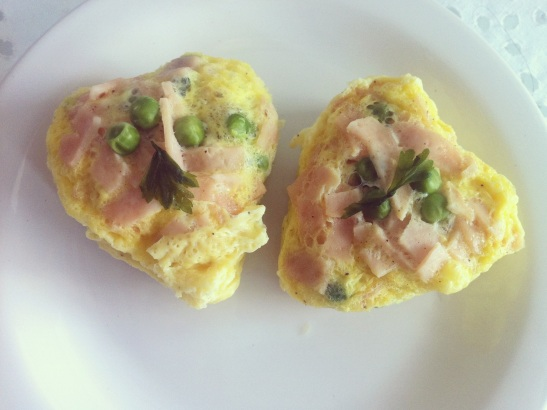 omelete microondas