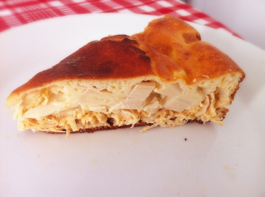 torta de frango e palmito light
