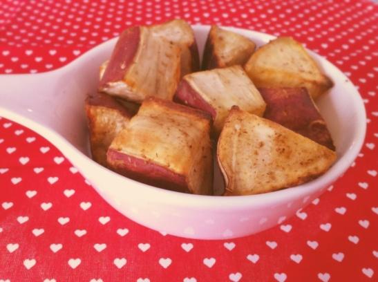batata doce assada