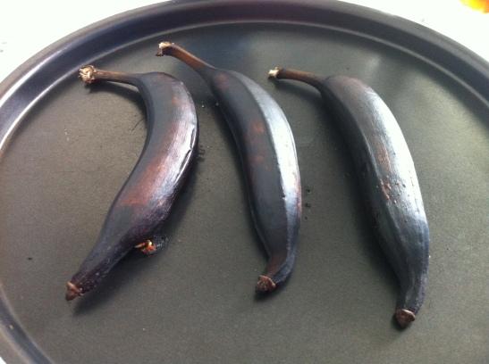 pure de banana da terra